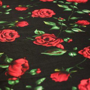 Ткань твилл d&g цвет черный