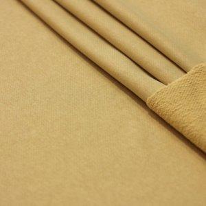 Ткань футер 3-х нитка петля цвет бежевый