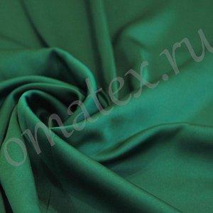 Швейная ткань армани шелк цвет тёмный изумруд