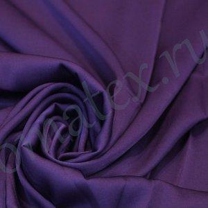 Швейная ткань армани шелк цвет тёмно-фиолетовый
