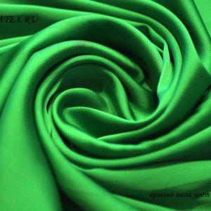 Швейная ткань армани шелк цвет зелёный