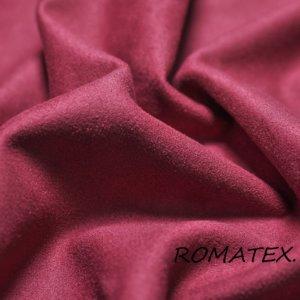 Автомобильная ткань замша на трикотаже цвет бордовый