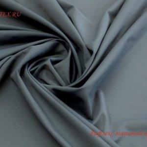 Ткань для купальника бифлекс матовый графит