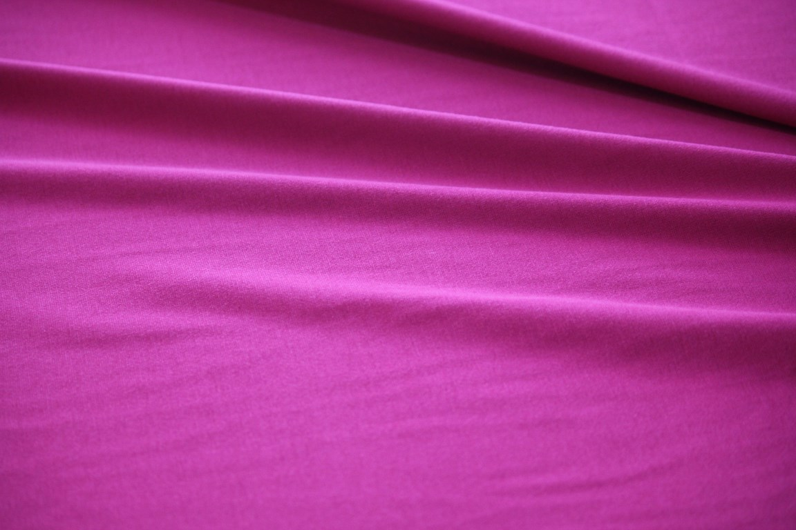 Ткань джерси цвет фуксия