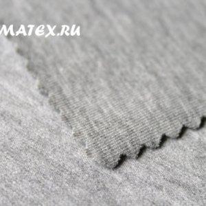 Ткань кулирка лайкра пенье цвет серый