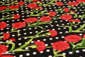 Ткань для пиджака жаккард твилл d&g цвет черный