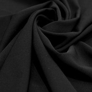 Ткань анжелика цвет чёрный
