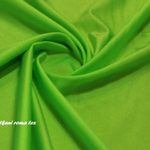 Ткань бифлекс цвет зелёное яблоко