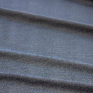 Ткань джинса рубашечная цвет тёмно-синий