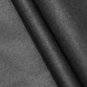 Ткань флизелин для ткани цвет чёрный плотность 30 гр/м