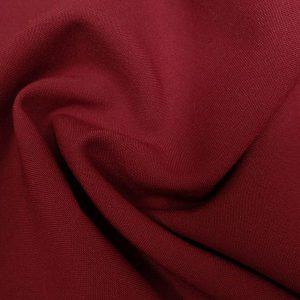 Ткань габардин стрейч цвет бордовый