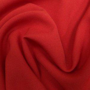 Ткань габардин цвет красный