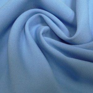 Ткань для спецодежды габардин цвет светло-голубой