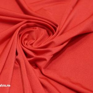 Ткань масло кристалл цвет красно-коралловый