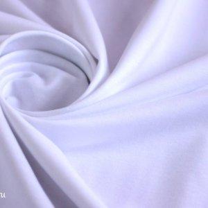 Ткань футер 2-х нитка петля цвет белый