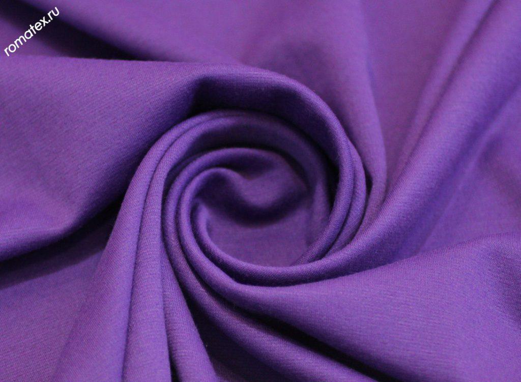 Ткань джерси цвет светло-фиолетовый