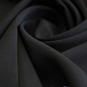 Ткань пикачо цвет чёрный