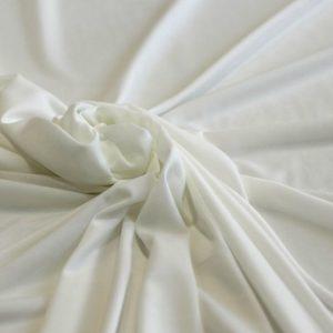 Ткань подкладочная стрейч цвет айвори