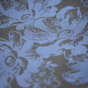 Ткань подкладочная огурцы цвет темно-синий