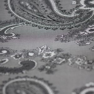 Ткань подкладка огурцы цвет серебро