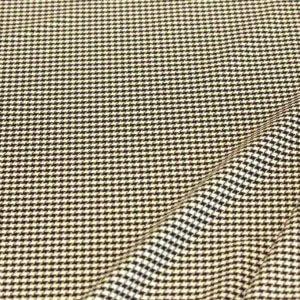 Ткань поливискоза шанель цвет черно белый
