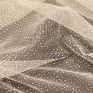 Швейная ткань сетка точка
