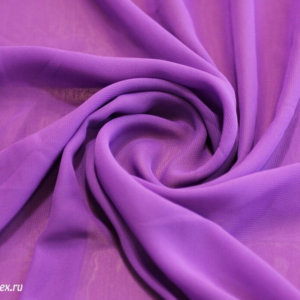 Ткань шифон однотонный цвет светло-фиолетовый
