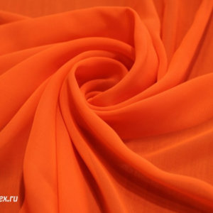 Ткань шифон однотонный цвет неоновый