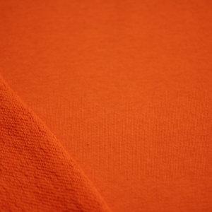 Ткань футер 3-х нитка петля цвет оранжевый