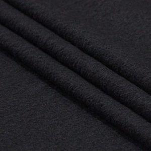 Ткань пальтовая цвет чёрный