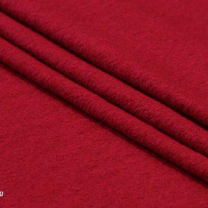 Ткань пальтовая цвет красный