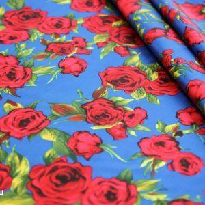 Ткань твил d&g цвет васильковый