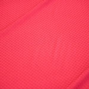 Ткань жаккард хлопковый цвет красный