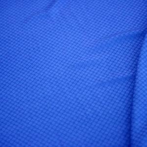 Ткань жаккард хлопковый цвет васильковый