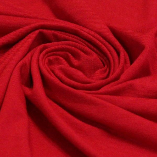 Ткань трикотаж вискоза цвет красный