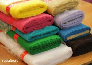 Ткань фатин мягкий цвета в ассортименте
