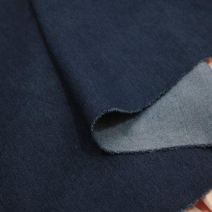 Ткань плотный джинс цвет темно синий