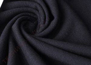 Ткань пике цвет чёрный