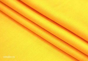 Ткань кашкорсе цвет жёлтый