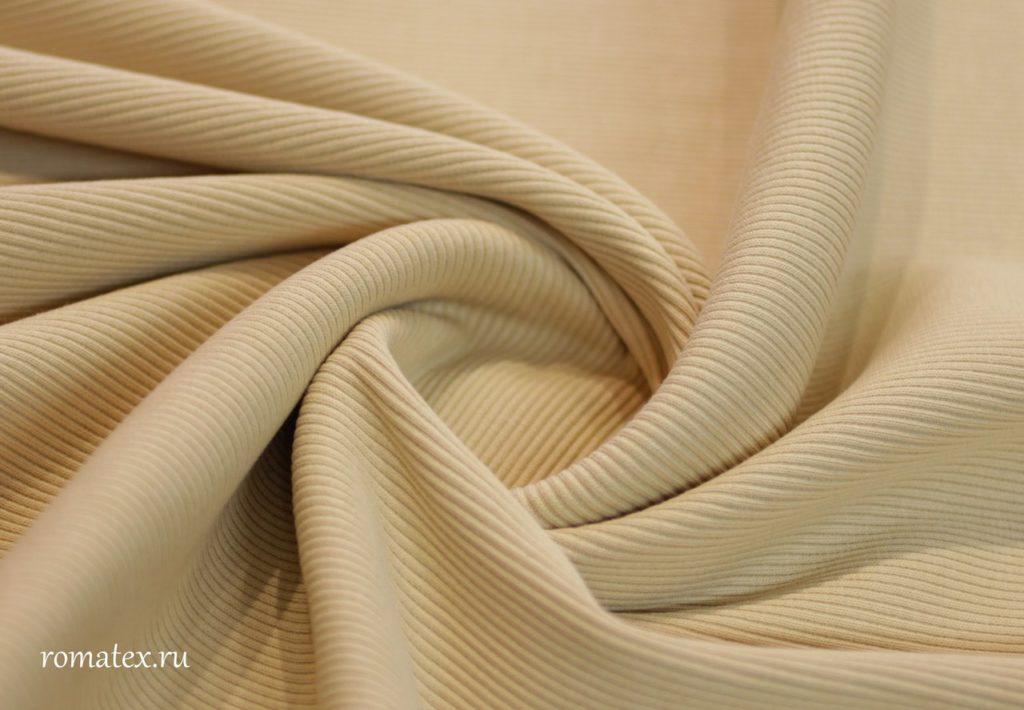 Ткань кашкорсе цвет светло-бежевый