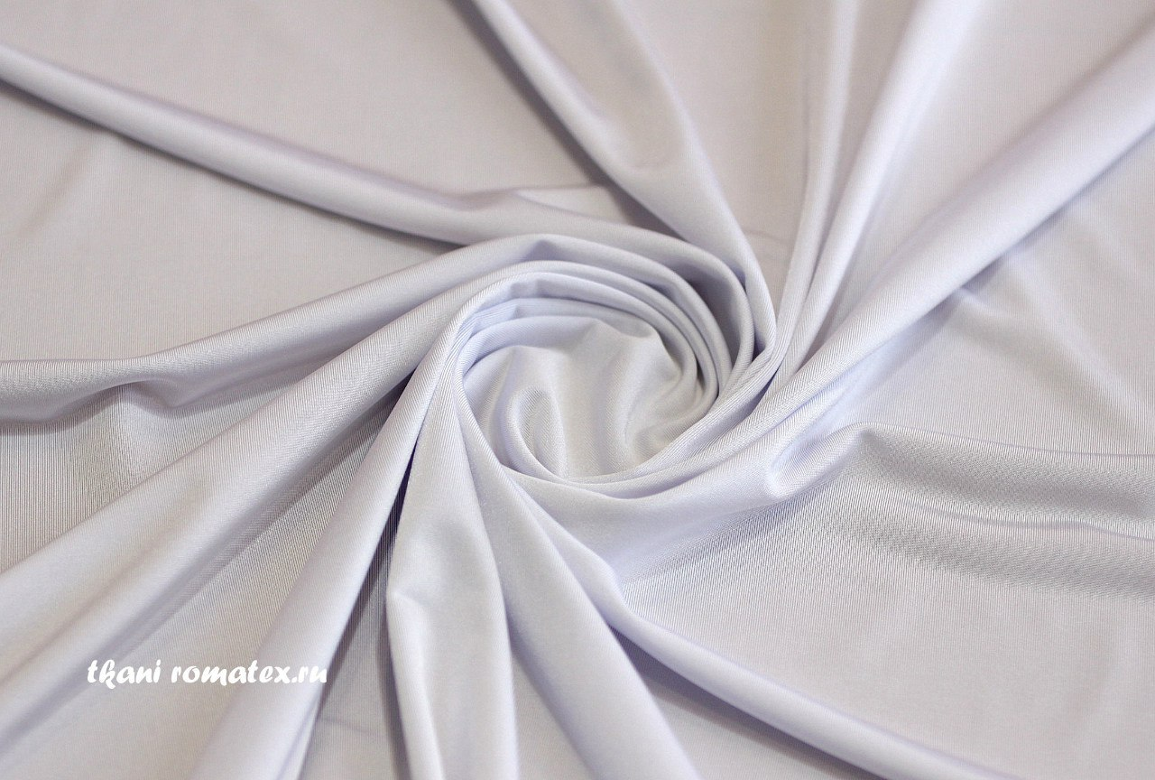 Ткань масло кристалл цвет белый