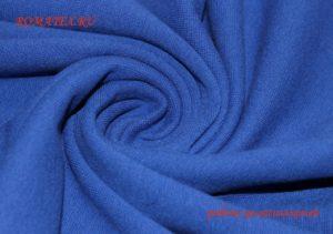 Ткань рибана цвет василёк