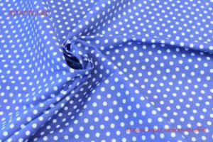 Ткань джинса горох цвет голубой