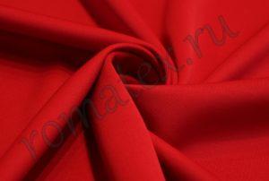 Ткань водолаз цвет красный
