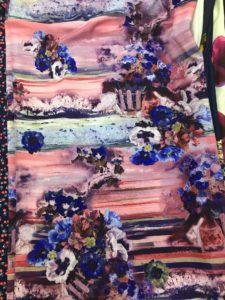 Ткань супер софт цвет букет