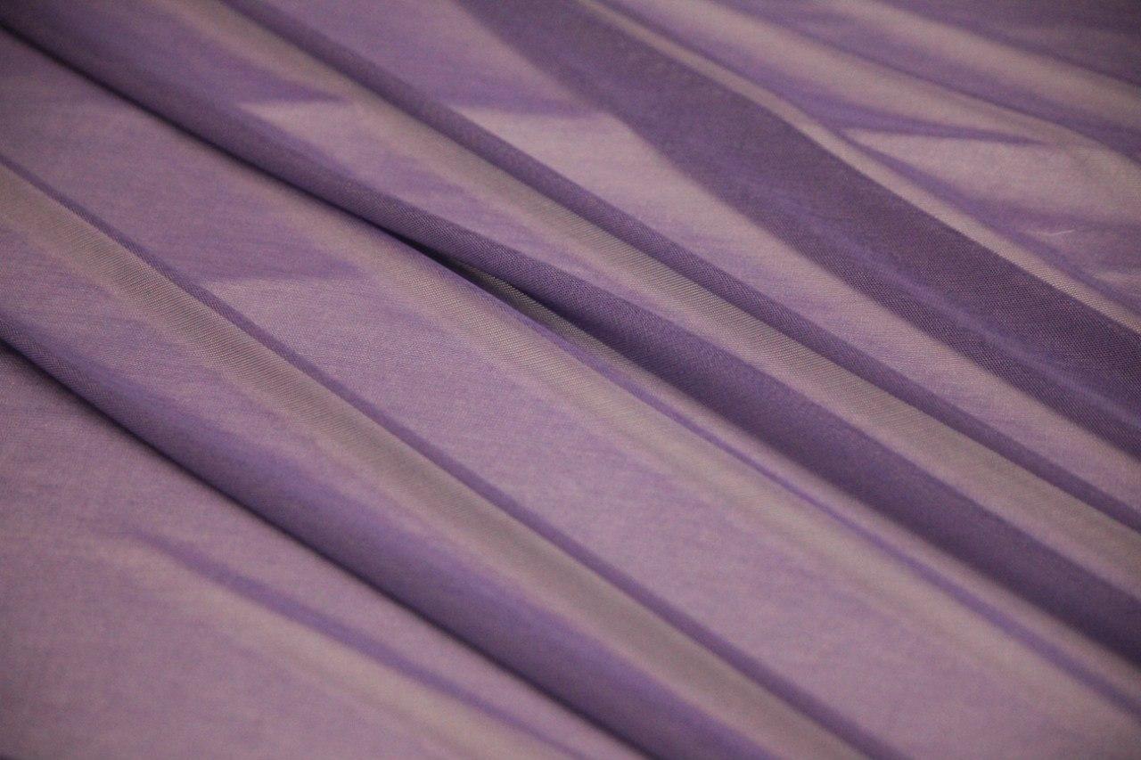 Сетка трикотажная цвет светло-сиреневый