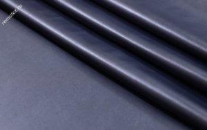 Ткань кожзам стрейч цвет тёмно-синий