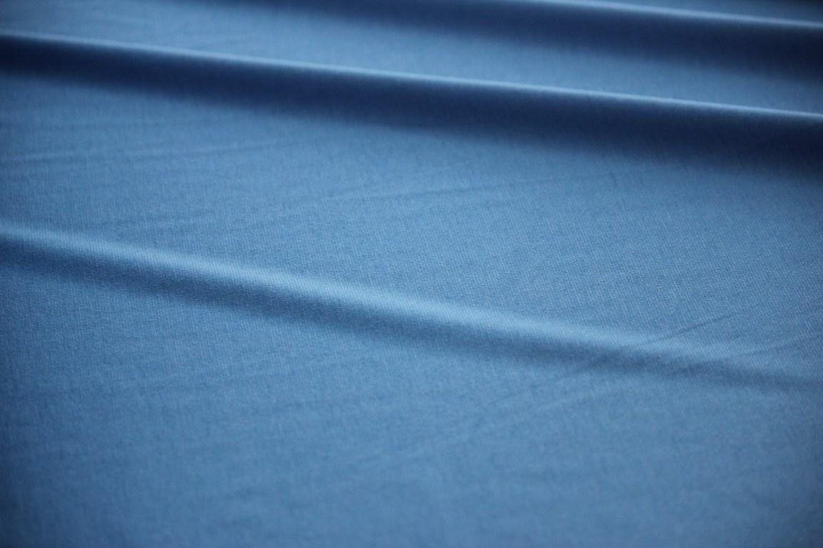 Ткань джерси цвет голубой