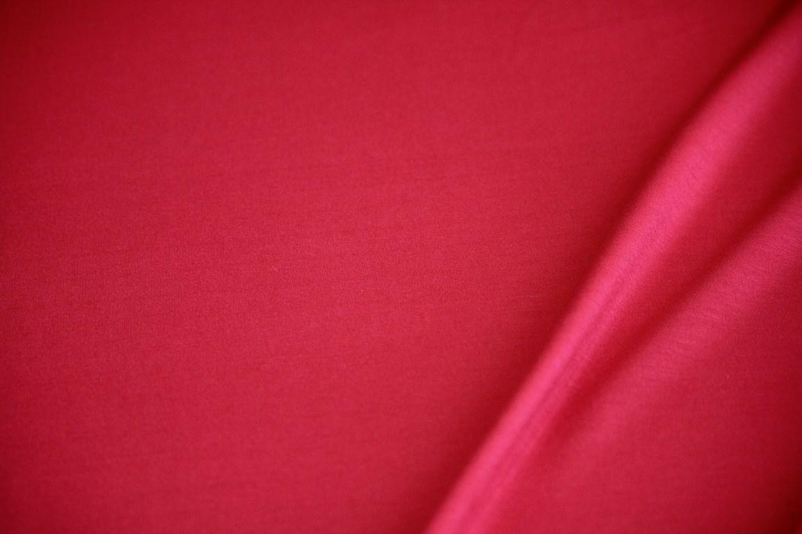 Ткань джерси цвет красный