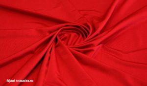 Ткань масло кристалл цвет красный